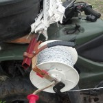 atv reel and posts holder